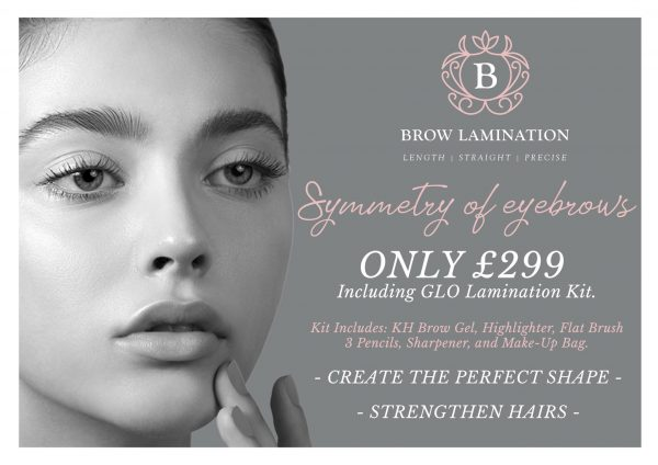 Glam'ination Brow Lamination £299